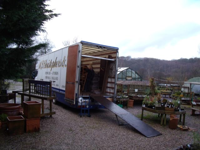 Moving in to Cove Garden Nursery